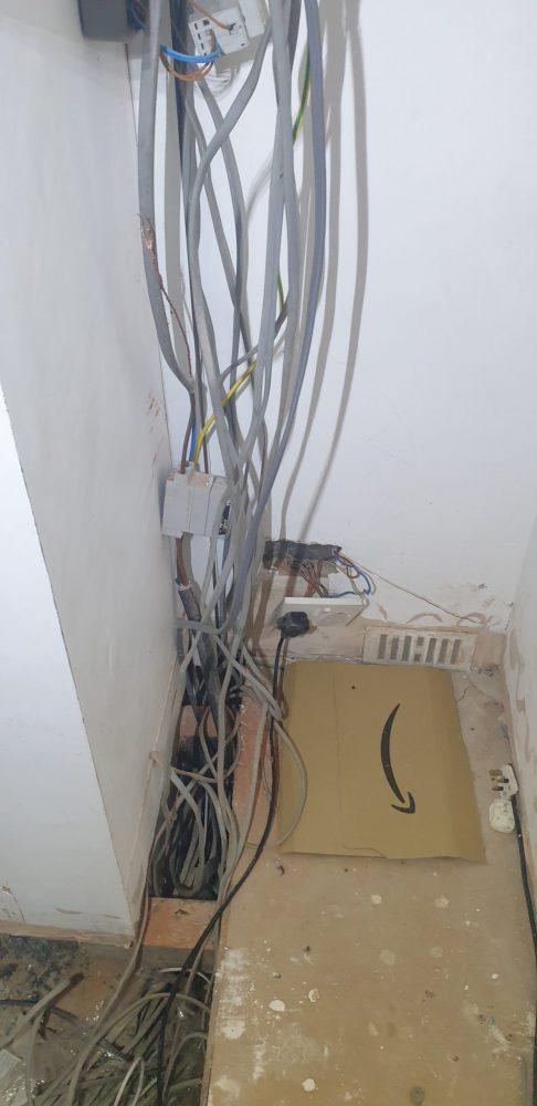 dodgy wiring