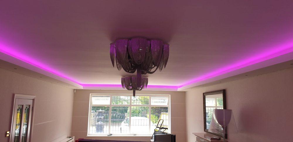 Ceiling strip light