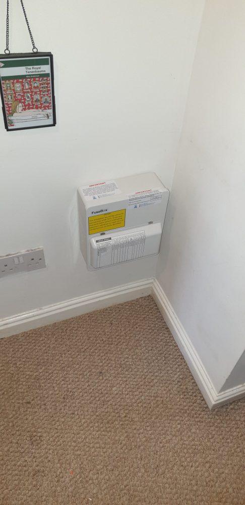 Consumer unit upgrade